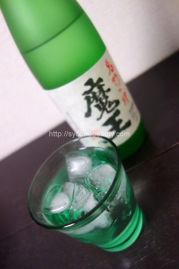 芋焼酎魔王ロック